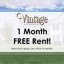 Rental info for Vintage at Plantation Bay