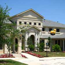 Rental info for Mansions Located at TPC San Antonio in the San Antonio area