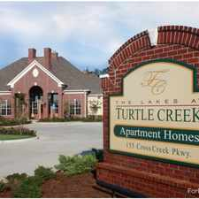 Rental info for The Lakes at Turtle Creek Apartment Homes