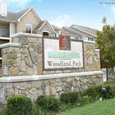 Rental info for Woodland Park in the Tulsa area