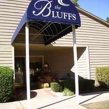 Rental info for The Bluffs Apartments of Spartanburg