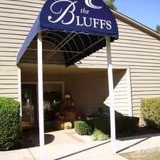 Rental info for The Bluffs Apartments