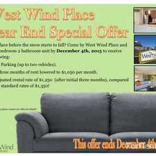 Rental info for West Wind Place