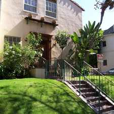 Rental info for 432 N Sycamore Ave in the Los Angeles area