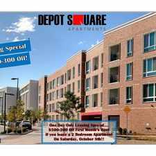 Rental info for Depot Square