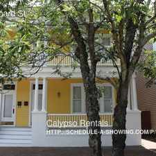 Rental info for 808 Barnard St in the Savannah area