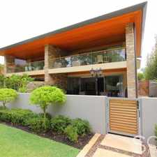 Rental info for WORLDCLASS RIVERFRONT FURNISHED APARTMENT in the Nedlands area