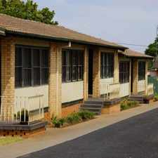 Rental info for Unit in quiet South Dubbo in the Dubbo area