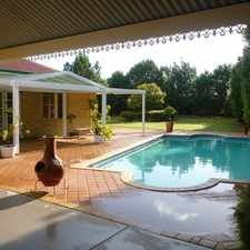 Rental info for LARGE FEDERATION HOME WITH POOL