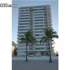 Rental info for $2200 1 bedroom Apartment in Fort Lauderdale in the Galt Mile area