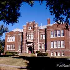 Rental info for Vinton School Apts
