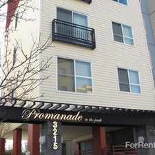 Rental info for Promenade at the Park in the Seattle area