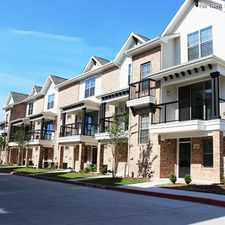 Rental info for Parkside Towns in the Dallas area