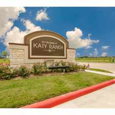 Rental info for Crossing At Katy Ranch