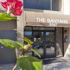 Rental info for The Banyans Apartments in the Valley Village area