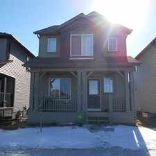 Rental info for Edmonton House for rent in the Walker area