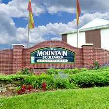 Rental info for Mountain Boulevard Apartments