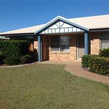 Rental info for GREAT FAMILY HOME IN QUIET AREA in the Bundaberg area