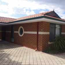 Rental info for Stunning Villa Home in the East Victoria Park area