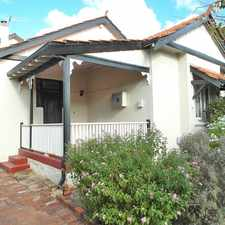 Rental info for Spacious character home in peaceful locale.
