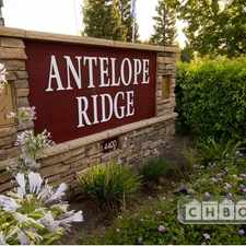Rental info for $2060 2 bedroom Apartment in North Highlands in the Antelope area