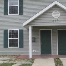 Rental info for Centrally Located in Neosho MO! 2 Bedroom 1.5 BA Duplex