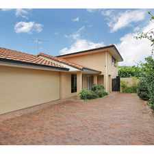Rental info for LARGE FAMILY HOME - 2 STOREY RESIDENCE in the Perth area