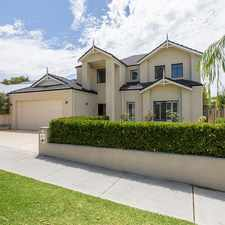 Rental info for FABULOUS CONTEMPORARY RESIDENCE in the Perth area