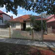 Rental info for North Perth Character Home