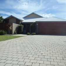 Rental info for Elegant Family Home in the Baldivis area
