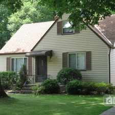Rental info for $2000 3 bedroom House in Cuyahoga County Fairview Park in the Tremont area