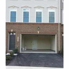 Rental info for 3BR 3.5 bath BRAND NEW LUXURY TH in Arcola, 20166