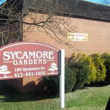 Rental info for Sycamore Gardens