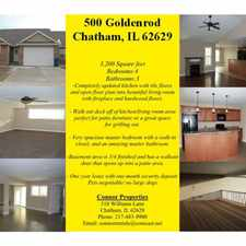 Rental info for 500 Goldenrod Drive