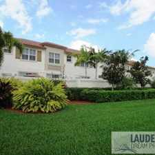Rental info for DANIA TOWNHOUSE in the Dania Beach area