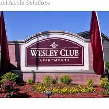 Rental info for Wesley Club Apartments