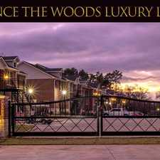 Rental info for The Woods Luxury Apartments