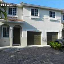 Rental info for $1800 4 bedroom Townhouse in Miami Lakes in the Miramar area