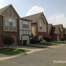 Rental info for Sydney Court Townhomes in the Tulsa area