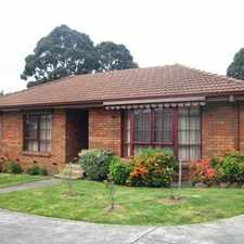 Rental info for Private Well Presented Villa in the Burwood East area