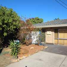 Rental info for WELL PRESENTED 3 BEDROOM HOME - LAWN MOWING INCLUD