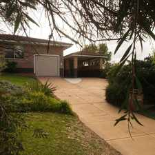 Rental info for HOME ON THE HILL in the Trigg area