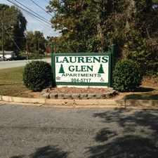 Rental info for Laurens Glen