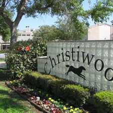Rental info for Christiwood Apartments