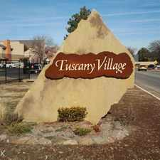 Rental info for Tuscany Village Apartments
