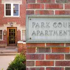 Rental info for Park Court in the City Park area