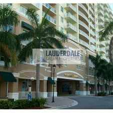 Rental info for 3020 Northeast 32nd Avenue in the Fort Lauderdale area