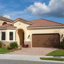 Rental info for Brand New Home For Sale: Golf Course Community- Medical City/Lake Nona in the Boggy Creek area