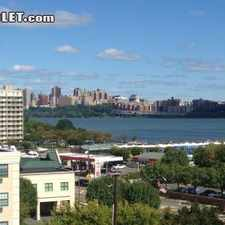 Rental info for One Bedroom In Edgewater in the Fort Lee area