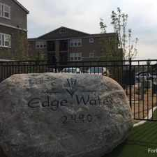 Rental info for Edge Water at Virginia Lake in the Reno area